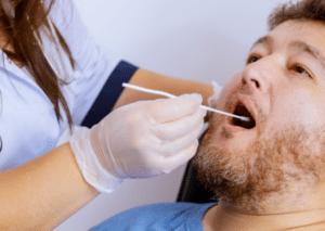 Mouth Swabbing Your Choice Medical Lancing